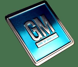 embossed aluminum badge