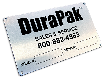 ID Plate Contact Info