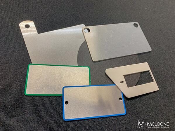 Metal and plastic spacers and die-cut components by McLoone