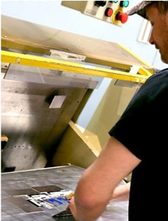 quality checks on manufacturing floor for nameplates and labels