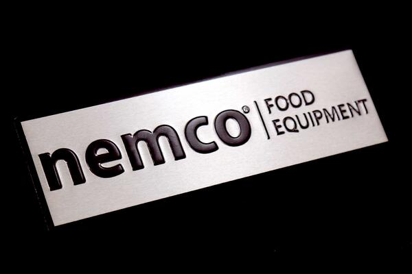 mill finish aluminum with horizontal grain satisfies brushed look for nameplates