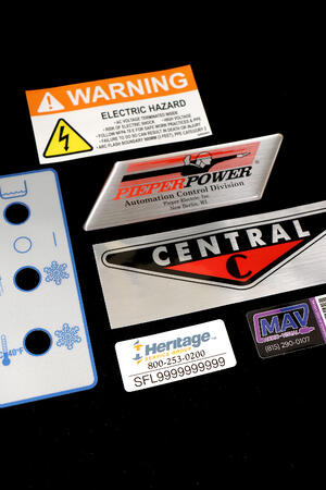 polyester or mylar labels by McLoone