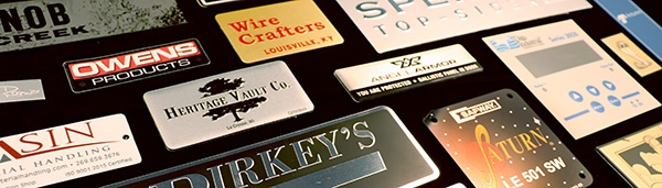 nameplate and label requirements for efficient purchase orders
