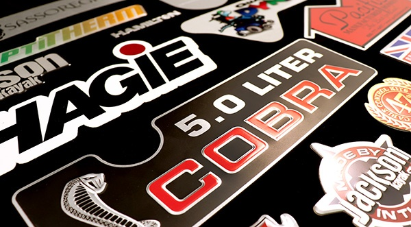 durable nameplates provide long lasting brand awareness