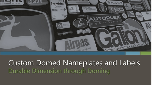 Custom Domed Nameplates and Labels eBook