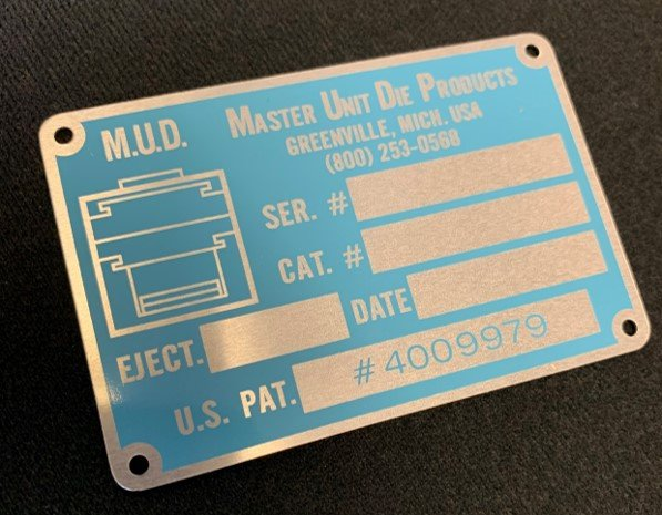 Other Options than Adhesive for Metal ID Plate Attachment