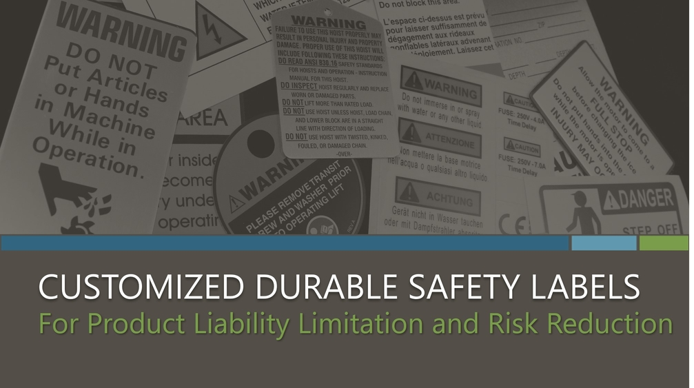 Customized Durable Safety Labels eBook