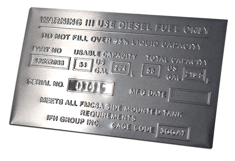Where and When it Makes Sense to Emboss Metal ID Plates