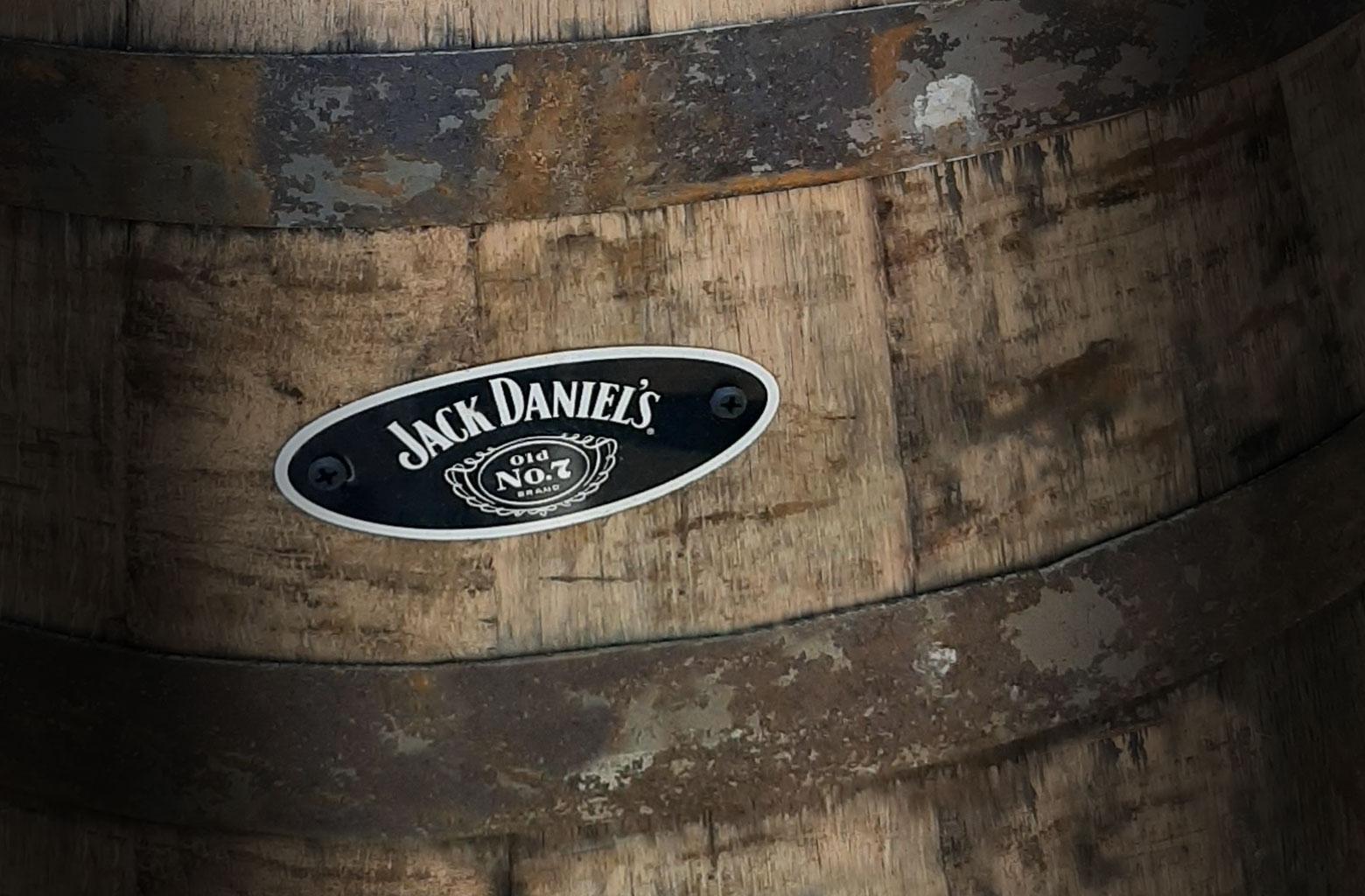 Attractive Branding for Whiskey Barrel Planter