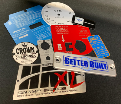 3 Types of Hole Options for Metal Nameplates and Plastic Overlays