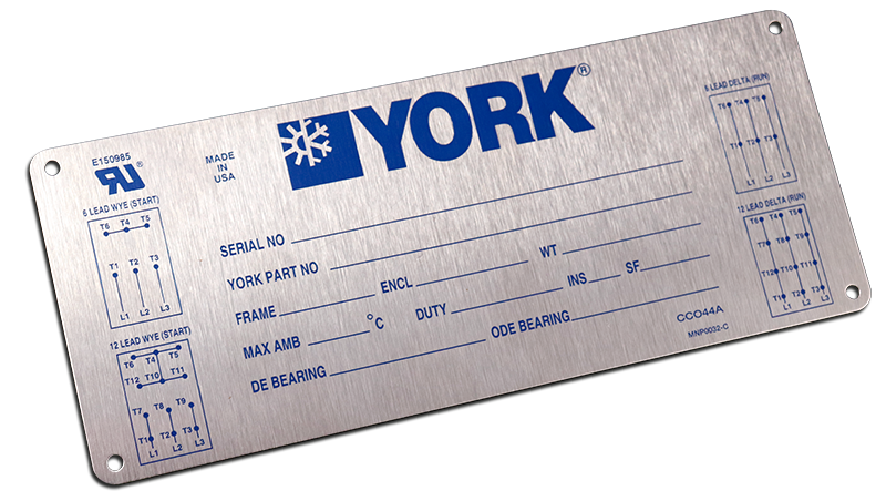 6 Essential but Overlooked Types of Industrial Nameplates